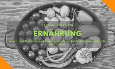 Podcast-Folge 002: Ernährung heute
