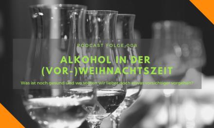 Podcast-Folge 008: Alkohol in der (Vor-)Weihnachtszeit