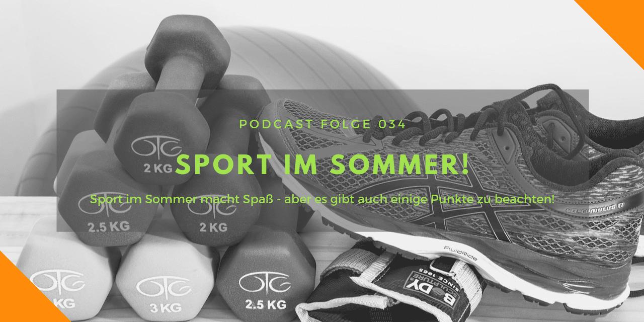 Podcast-Folge 34: Sport im Sommer