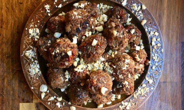 Mediterrane Reisbällchen – ein leckerer Snack!