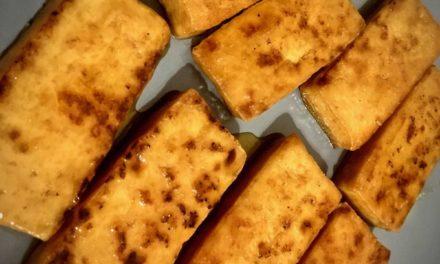 Glasierter Tofu – ein süß-salziger Traum